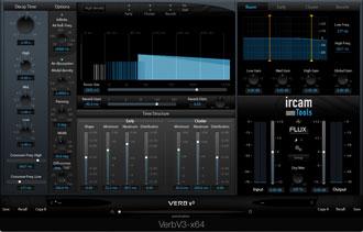 IRCAM's VerbX3 Reverb