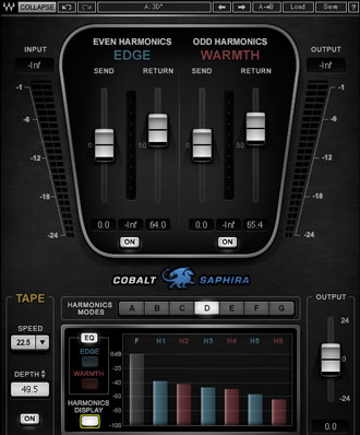 The Waves Saphira harmonic enhancer