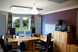 Mixing and mastering room